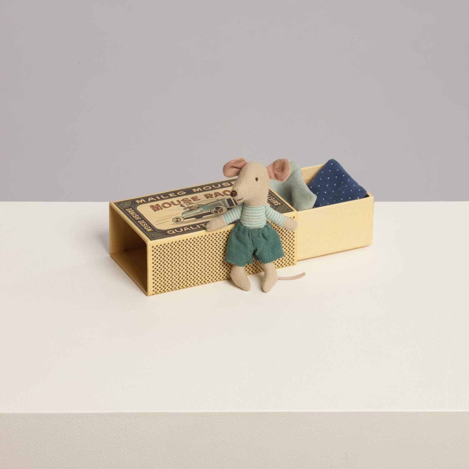 maileg little brother mouse in a box the laurels in lewes. Black Bedroom Furniture Sets. Home Design Ideas