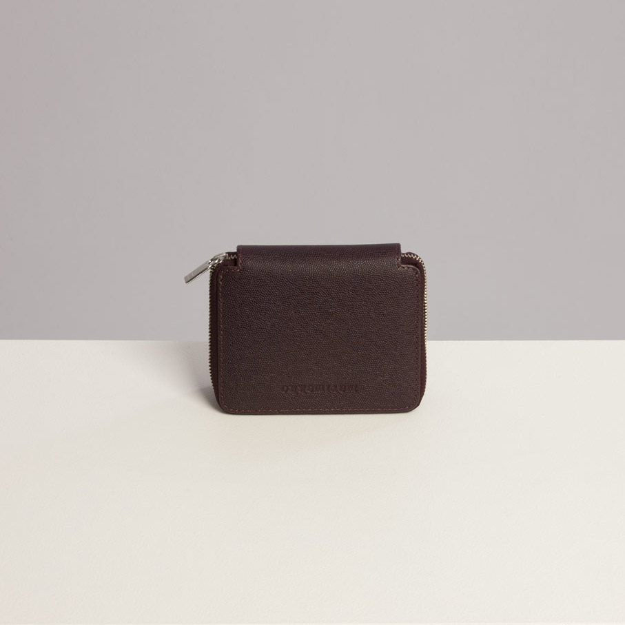 Marimekko Ilma Wallet In Plum Leather The Laurels In Lewes