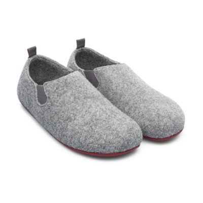 b8440e74162 Camper Wabi Wool Slippers in Grey with Red Sole. £55.00 £41.25. The Laurels