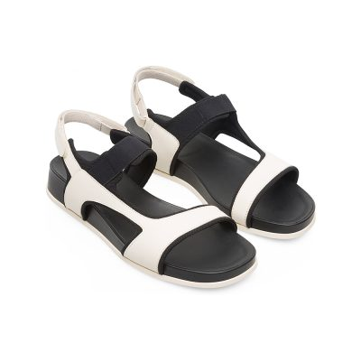 0dc0cd232cf6 Camper Atonik Sandal in Light Beige and Black