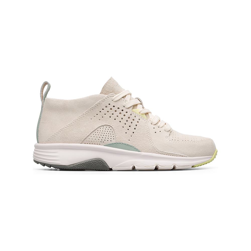 2f3c75c357fa Camper Drift Trainer in Pastel Green and Cream - The Laurels in Lewes