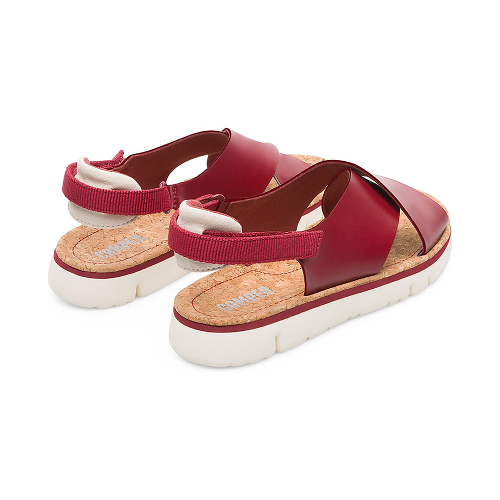 ecb41f0fec4b Camper Oruga Sandal in Deep Red Leather - The Laurels in Lewes