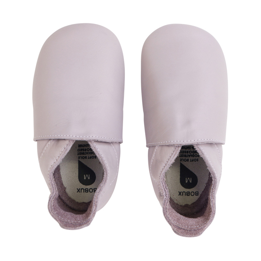 Simple Softsole Baby shoes in Lilac by